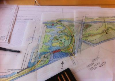 ontwerp waterberging park Bijdorp